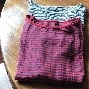3 DOT striped women's tops